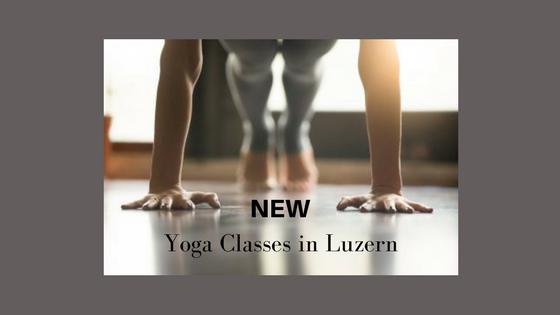 NEW Yoga Classes in English in Luzern
