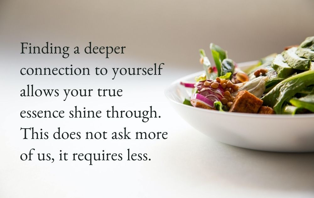 A practice of reflection: What feels nourishing for you?