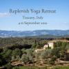 Replenish Yoga Retreat Tuscany Italy